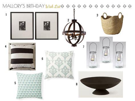 home decor websites list birthday wish list home decor items 3a design studio