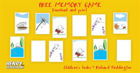 print on demand card games uk henry the hedgegnome memory game match the pairs of cards