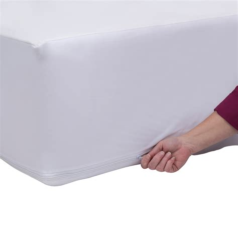 bed bug mattress cover walmart original bed bug blocker zippered mattress protector