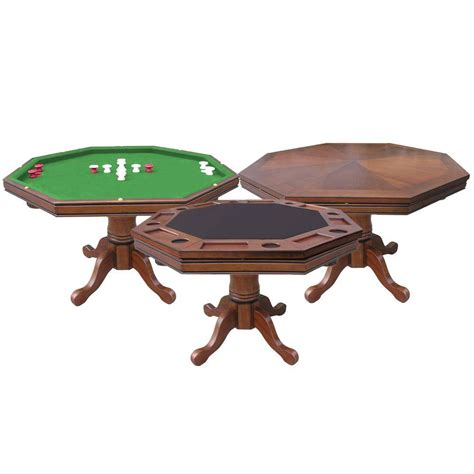 hathaway kingston walnut 3 in 1 poker bg2366t the