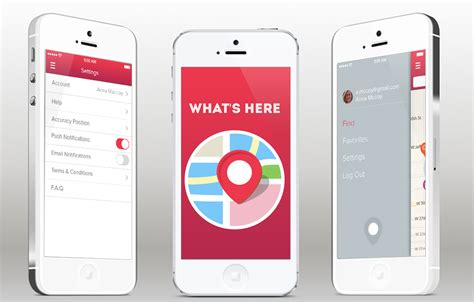 what s here iphone app template ios
