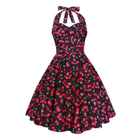 Mayra Polka mayra vivien black cherry dress polka dot vintage
