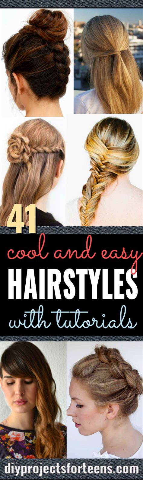 diy back to school hairstyles for medium hair 41 diy cool easy hairstyles that real people can actually