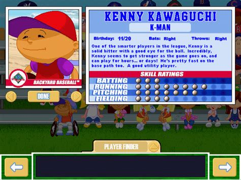 kenny backyard baseball viva la vita backyard baseball 2001 draft seventh round