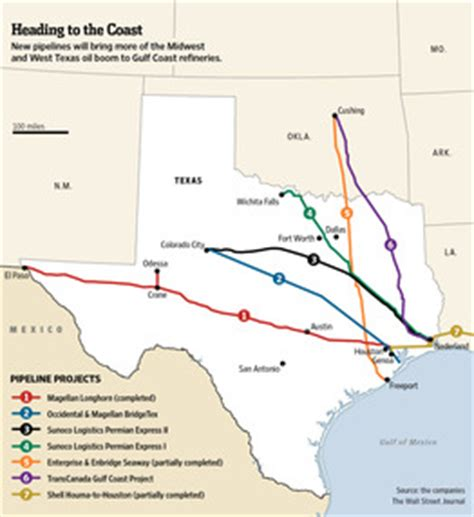 texas pipeline map texas next big new pipelines ferrying landlocked crude expected to boost gulf