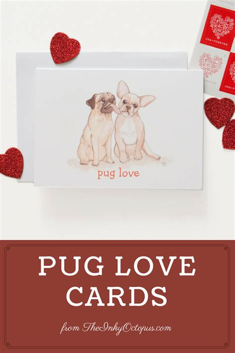 pug valentines card printable pug coloring page the inky octopus