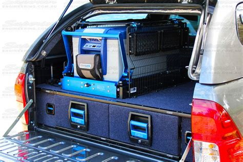 4wd Drawer Systems Plans by Msa 4x4 Drawer Systems 4x4 Accessories