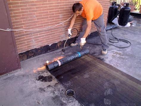 lavori di impermeabilizzazione terrazzo impermeabilizzare il terreno tecniche di fai da te