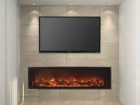 recessed electric fireplace landscape view friendly firesfriendly fires