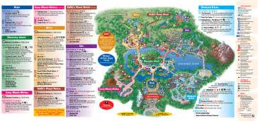 Disney World Resort Map by Park Maps 2011 Photo 1 Of 4