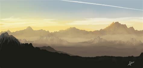 tutorial editing landscape photoshop cgarena painting a landscape