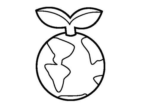 imagenes faciles para dibujar del medio ambiente dibujo de planeta limpio para colorear dibujos net