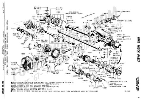 f250 parts diagram ford truck technical drawings and schematics section a