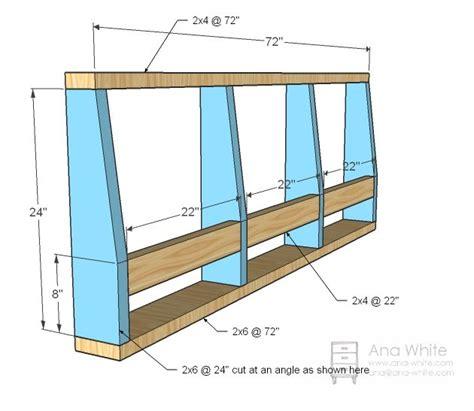 ana white build a storage sofa free and easy diy