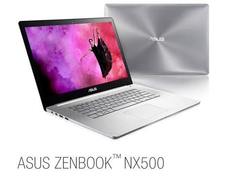 Laptop Asus Zenbook Nx500 asus announces a trio of transformers and the zenbook