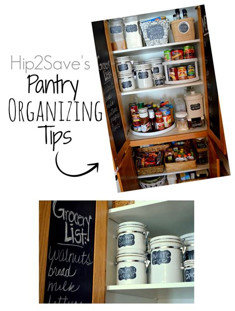 pantry organization tips 4 simple pantry organization tips hip2save