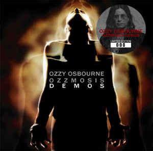 Cd Ozzy Osbourne Ozzmosis ozzy osbourne ozzmosis demos cd at discogs