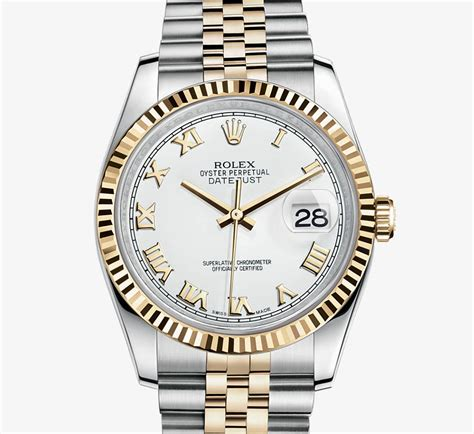 Rolex Kulit Combiyellow rolex datejust yellow rolesor combination of 904l steel and 18 ct yellow gold m116233