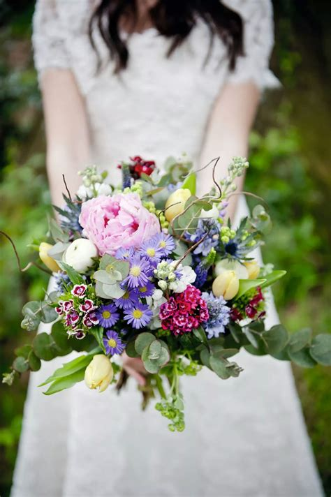 Cut Flowers Wedding Bouquet by Floral Trends Wedding Flowers 2015 Ditsy Floral Design