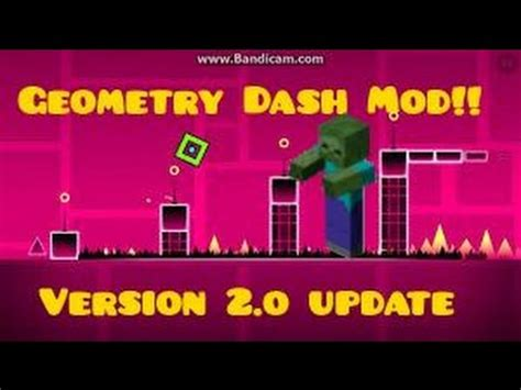 geometry dash full version for free 2 0 full download minecraft geometry dash mod blocks spikes