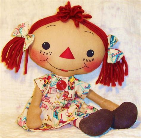 Handmade Doll Patterns Free - free sewing pattern simple rag dolls with pattern from the
