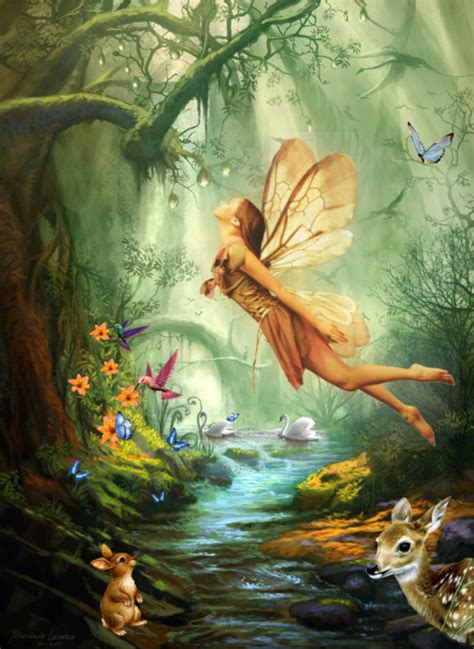 libro the faery forest an nature s fairy nymphs magical elves sprites pixies and winged woodland faeries quot fairy of
