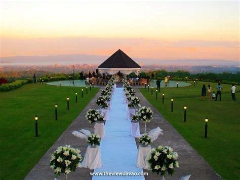 The View @ Davao PH   Garden wedding   Wedding, Table
