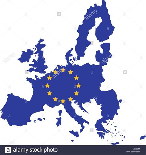 european union map european union map icon europe eu country national and