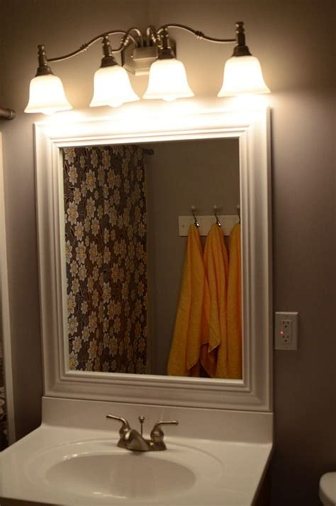 trim for bathroom mirror bathroom mirror with trim my own private idaho pinterest