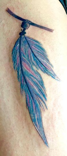 feather tattoo turquoise purple turquoise feather tattoo