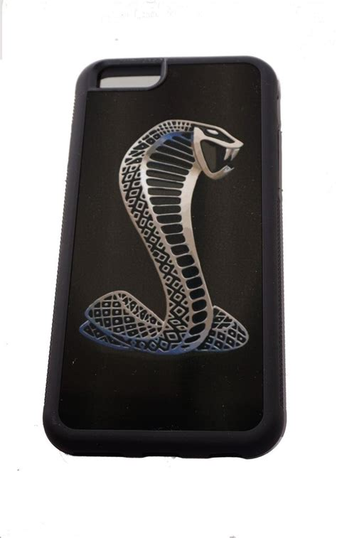 Casing Iphone 6s Ford Mustang Shelby Custom ford mustang iphone 6 6s with cobra logo the mustang trailer