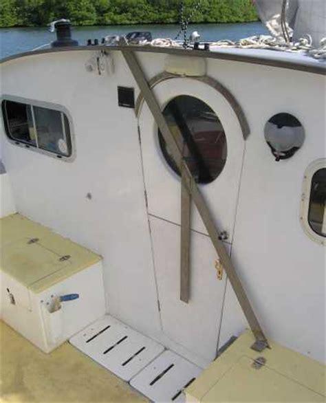 passport boat hatches sailing catamarans piracy