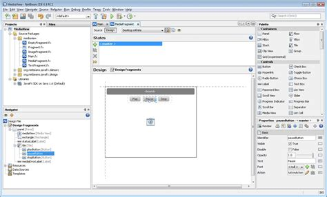 java swing tutorial netbeans netbeans ide javafx composer