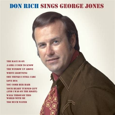 buck owens flat top haircut with fenders don rich sings george jones the only solo album by don