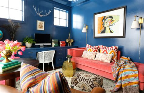 blue eclectic home decor ideas home ideas collection