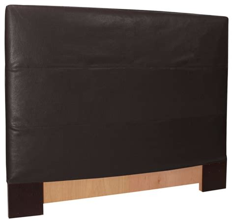 black headboard queen black faux leather slipcovered headboard full queen