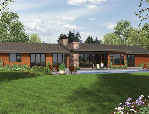 modern rancher ranch house plans modern cottage house plans