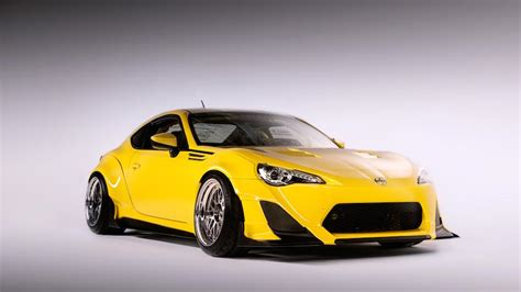 scion yellow scion tuner challenge creates 3 cool tuned fr s sports cars
