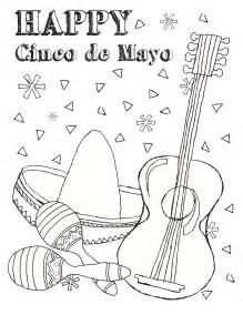 free printable cinco de mayo coloring pages for
