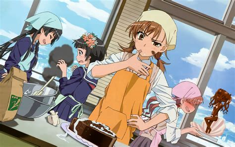a certain scientific railgun the of characters in anime does it create or