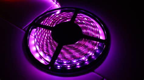 Mclubsg Led Strip Purple Color Purple Led Light Strips