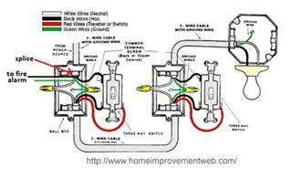 wiring turning light on turns power to alarm home improvement stack exchange