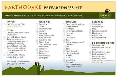 earthquake plan for home earthquake preparedness preparing for disasters