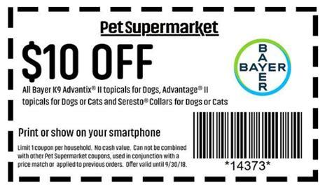 Pet Supermarket Printable Coupons