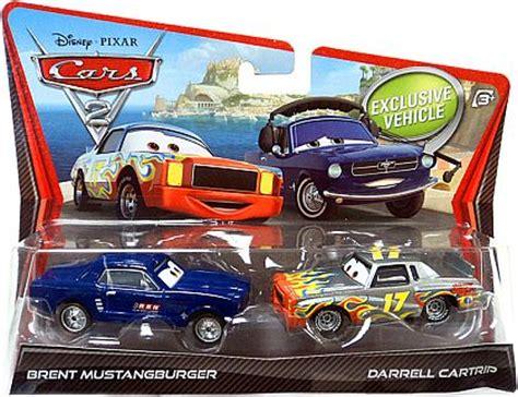 Mattel Disney Pixar Darrel Cartrip Brent Mustangburger Obral Murah corvette plus news neuheiten 2nd quarter 2011