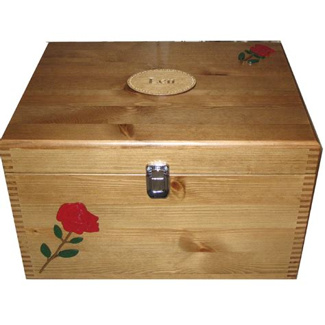 decorative keepsake boxes with lids special decorative xl storage box in natural or rustic