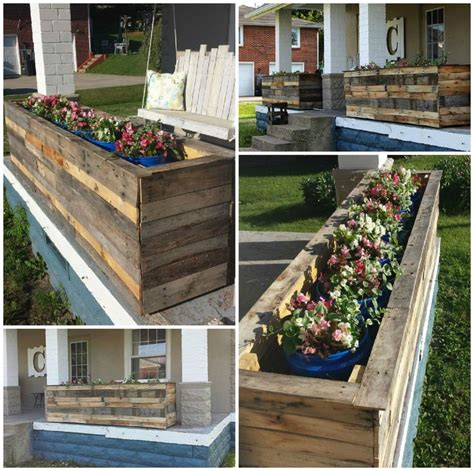 Pallet Planter Box Plans by 25 Unique Pallet Planter Box Ideas On