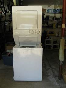maytag stackable washer dryer apartment size