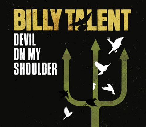 adele new song devil on my shoulder billy talent devil on my shoulder single cover bild