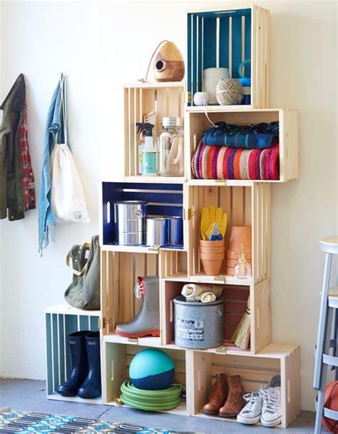 repisas  cajones de frutas thehome crate shelves diy furniture  shelves